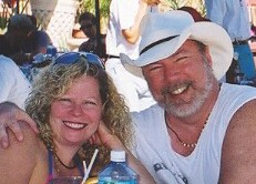 Tony & Cheri, owners of the Luna Blue Hotel & Garden in beautiful Playa del Carmen, Mexico