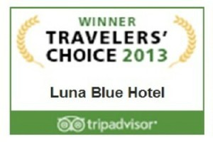 2013 Travelers' Choice Award Winner - Luna Blue Hotel - Best Bargain Mexico