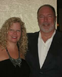 Tony & Cheri, Owners of the Luna Blue Hotel